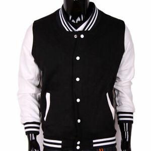 Unisex Varsity Style Letterman University College Baseball Sports Jacket New