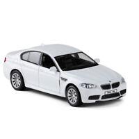 1:36 BMW M5 Die Cast Modellauto Auto Spielzeug Model Sammlung Pull Back Weiß