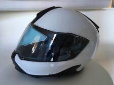 Casco BMW System 7 carbon, colore bianco, misura L