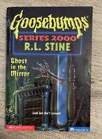 R.L. Stine - Ghost In The Mirror (Goosebumps 2000 Series - #25) RARE 1st Edition