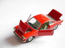 Fiat 1500 Siata Coupe Rojo Rouge Rosso red, Politoys 1:43 - modifica modified!