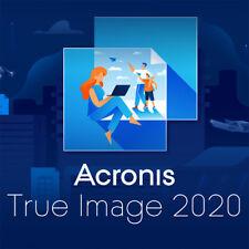 Acronis True Image 2020 - 1 3 oder 5 Geräte (PC/Mac) Vollversion Download