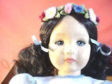 Rare Lenci Doll of Peace Girl Holding Dove MIB