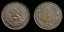 Netherlands - 1 Cent 1906 deels originele muntkleur