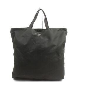 Prada Tote Bag  Dark Brown Nylon 2004252