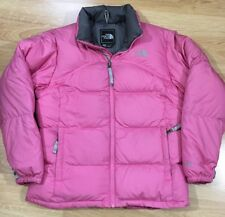 The North Face 600 Puffer Jacket With Down Feathers Girls Size Large Pink