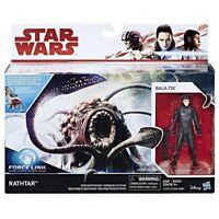 Star Wars The Last Jedi Force Link Rathtar & Bala-Tik Action Figure Toy Kids Col