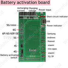 Battery Activation Charge PCB Board with USB Cable for Iphone 6 7 Huawei Samsung
