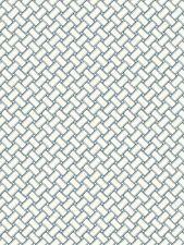 Carey Lind Nautical Blue Weave Sure Strip Wallpaper WT4598