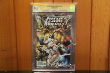 JUSTICE LEAGUE OF AMERICA #10 2007 CGC 9.6 Signed