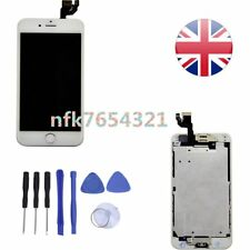 White For iPhone 6  Replacement LCD Digitizer Home Button Complete Touch Screen