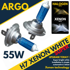 H7 55w 5000k Xenon Hid super White Effect Look Headlight Lamps Light Bulbs 12v