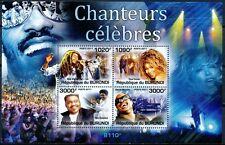BURUNDI 2011 MNH SS, Singers, Music, Stevie Wonder, Tina Turner, Dominos   -Y@