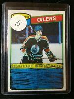 F27331  1980-81 Topps #182 Wayne Gretzky TL/Oilers Scoring Leaders