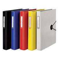 A4 D-ring Binder 3 Holes Punching File Folder Document Filing Book