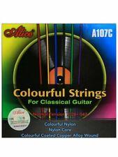 Set corde per chitarra classica Alice A107-C - Corde Colorate
