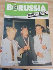 Fohlen Echo Borussia Mönchengladbach vom 08.10.1988 gegen 1 FC Köln