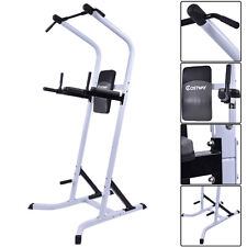 Costway Chin Up Stand Pull Up Bar Dip Power Tower Home Gym Fitness Workout New