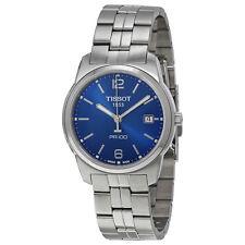Tissot PR 100 Blue Dial Bracelet Mens Watch T0494101104701