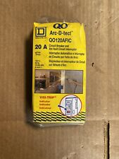 Square D QO120AFIC 20 Amp Single-Pole Combination Arc Fault CFIC Circuit Breaker