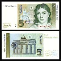 Germany - Federal Republic 5 Deutsche Mark 1991 UNC ***