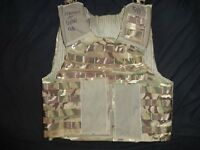 British Army OSPREY MK4 MTP Body Armour Cover Vest 180/104 Grade 1 WITH WRITING