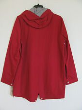 Levi's Water Resistant Fishtail Parka Jacket w Hood-Red- Men's Large -NWT