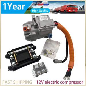 Auto Parts Air Conditioning Car Truck Bus 12V Electric Car Compressor R134a