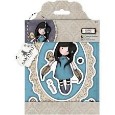 New Simply Gorjuss Urban Rubber Stamps THE OWL  set Girl free US ship SANTORO