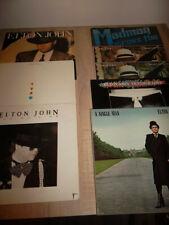 Elton john 8x vinilo LP Colección, entre otros, Breaking Hearts japón descompresiones