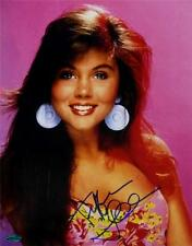 Tiffani Amber Thiessen Signed Saved By The Bell 11x14 Photo OC Dugout Holo + COA