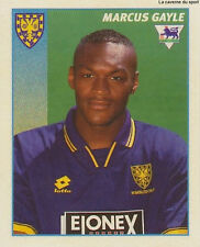 N°527 MARCUS GAYLE WIMBLEDON.FC STICKER MERLIN PREMIER LEAGUE 1997