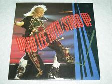 "DAVID LEE ROTH Stand Up / Knucklebones 1988 P/S 7"" 45 MINT"