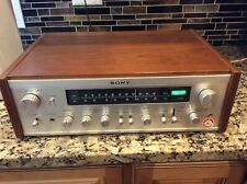 Sony Str-6055 Vintage Stereo Receiver - Beautiful condition - Exc. wood case