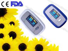 FDA CE Finger Pulse Oximeter Blood Oxygen Saturation SPO2 PR Color LCD monitor