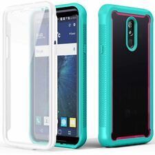 For LG Stylo 5 Plus Clear Bumper Case Full Cover With Built-in Screen Protector