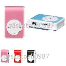 Kunststoff Mini Clip Funktion USB MP3 Player Unterstützung Micro SD TF Karte Mus