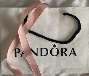 Pandora Gift Bag Small with Pink Ribbon