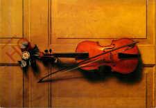 Picture Postcard, Jan Van Der Vaart, Painting Of Violin, Chatsworth