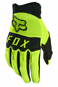 Fox Racing Mountain Bike Dirtpaw Glove Flo Yellow Size- Small