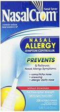 2 Pack - Nasal Crom Nasal Allergy Symptom Controller Spray .88 fl oz Each