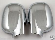 Accesorio para Hyundai Santa Fe 2001-2006 Tapas de Retrovisores de Cromo