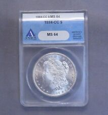 1884 - CC Morgan Silver Dollar | MS64 ANACS | Carson City