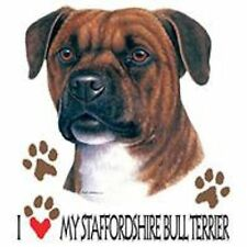 Staffordshire Bull Terrier Love Tote