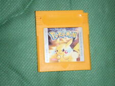POKEMON gelb - GamBoy Classic - Game Boy Spiel - deutsch