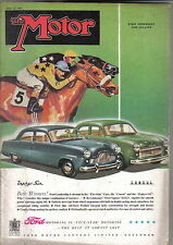Motor 20/06/1951 Morris Minor 4 door Le Mans 24 hrs Belgian GP Manx Races +