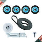 DC97-16782A DC93-00634A 6602-001655 Dryer Drum Roller Repair Kit for Samsung photo