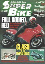 Paso 750 Ducati 600TL CBR1000F FZR1000 Genesis Suzuki GSX1100 RGB Triumph 875 TL