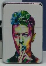 DAVID BOWIE PORTRAIT FLIP METAL PETROL LIGHTER