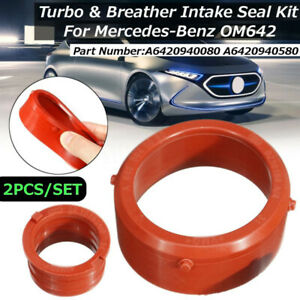 A6420940580 Turbo Intake Seal Ring&Engine Breather Seal For Mercedes-Benz OM642